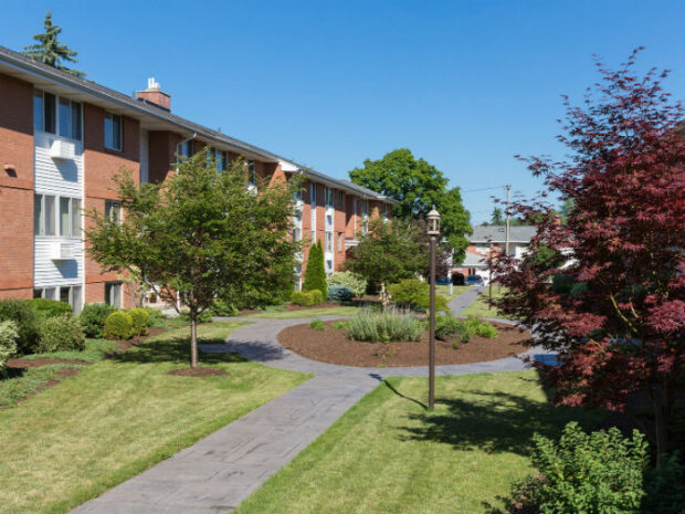 Clintwood Apartments Backview