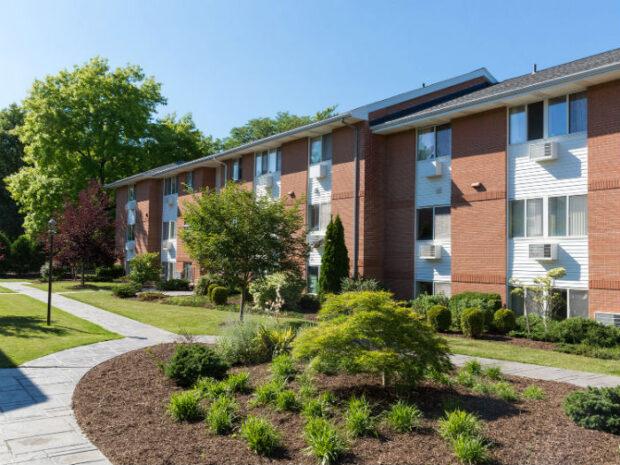 Clintwood Apartments Backyard